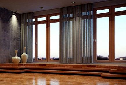 holz aluminimfenster